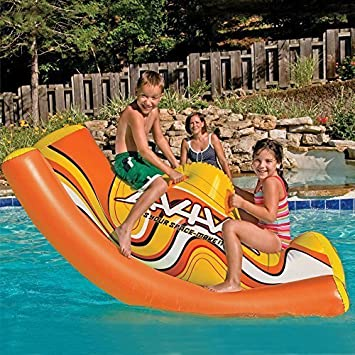 Kids Durable Inflatable See Saw Pool Toys. Inflatable Floats Toys Pool  River Lake Water