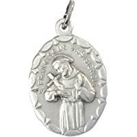 Saint Francis of Assisi Medal - The Patron Saints Medals -100% Made in Italy