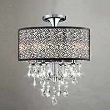 LightInTheBox Modern Crystal/Mini Style Chandeliers Ceiling Light Drum Lighting Fixture