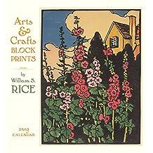 Arts & Crafts Block Prints - W. S. Rice 2019 Calendar