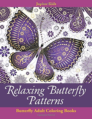 Relaxing Butterfly Patterns Adult Coloring