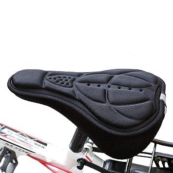 LKXOOD Funda Asiento Bicicleta Estática Relleno Gel ...