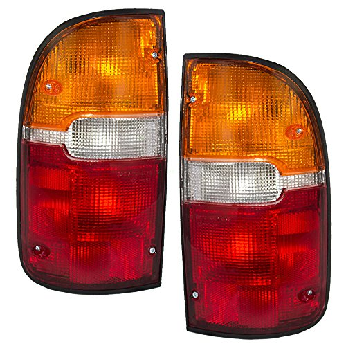 Driver and Passenger Taillights Tail Lamps Replacement for Toyota Pickup Truck 81560-04030 81550-04030 -