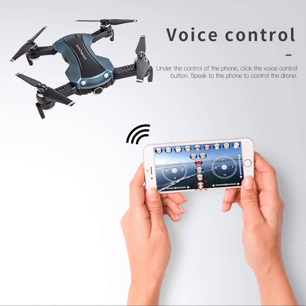 VESNIBA Drone Optical Flow Electricity Adjustment 120°FOV 1080PHD WiFi FPV Drone RC Quadcopter by VESNIBA LLC (Image #9)