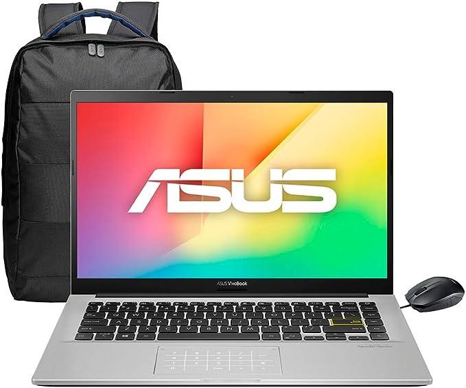 "Asus Laptop VivoBook , 14"", Intel Core i5 10th, 8GB RAM, 512GB SSD+32 Optane, NumberPad y Mchila. Dreamy White, X413FA-BV584T: Amazon.com.mx: Electrónicos"