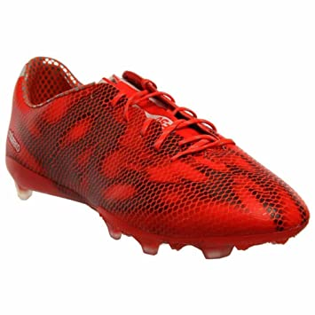 timeless design 06e20 6385e adidas Mens F50 Adizero FG (Solar Red Black) (7.5)