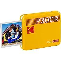 KODAK Mini 3 Retro Portable Photo Printer, Compatible with iOS, Android & Bluetooth Devices, Real Photo (3x3), 4Pass…