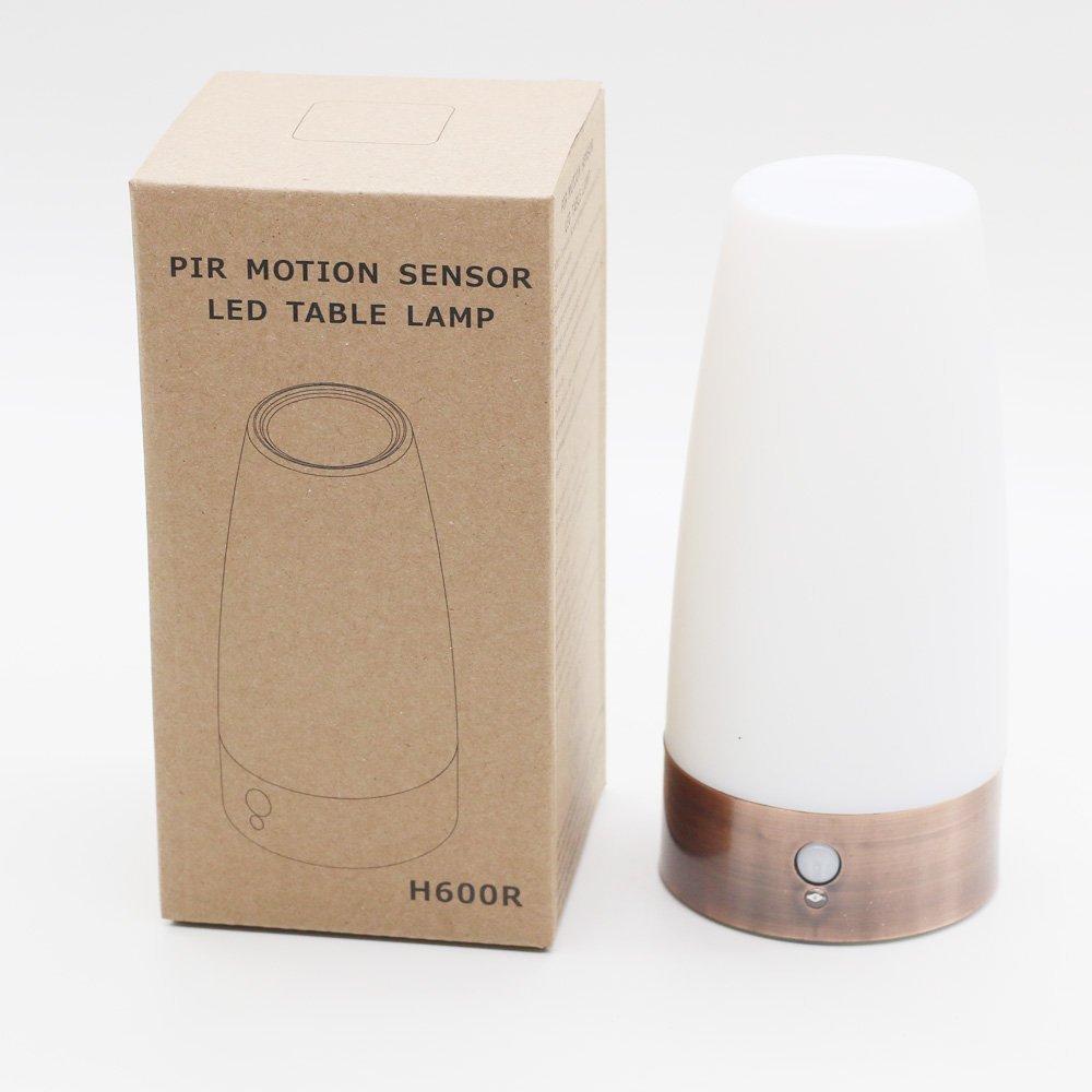 Wireless Pir Motion Sensor Table Lamp Retro Sensitive Led Night Light For Kids Room Lights & Lighting