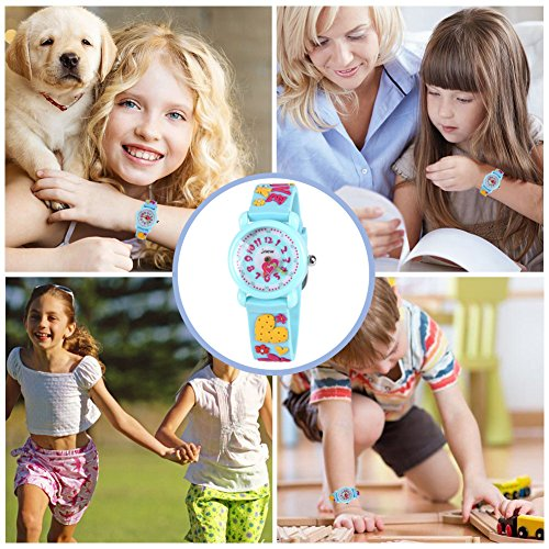 Gift for 3-10 Year Old Girls, Kids Watch for Kids Toy for 3-10 Year Old Girl Gift for Girl Age 3-10 Wristwatch Present for Birthday Little Girl Children by Kids Gift (Image #6)