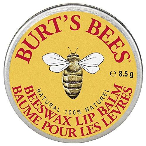 Burt's Bees 100% Natural Lip Balm Tin, Beeswax (100% natürlicher Lippenbalsam in der traditionellen Dose), 1er Pack (1x 8.5g)