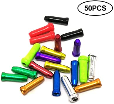 Shift Moto Freno Alambre End Caps Shift 50pcs Desviador Cable ...