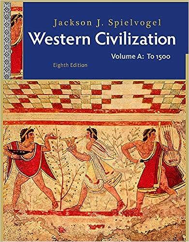 Western Civilization Volume A To 1500 Jackson J