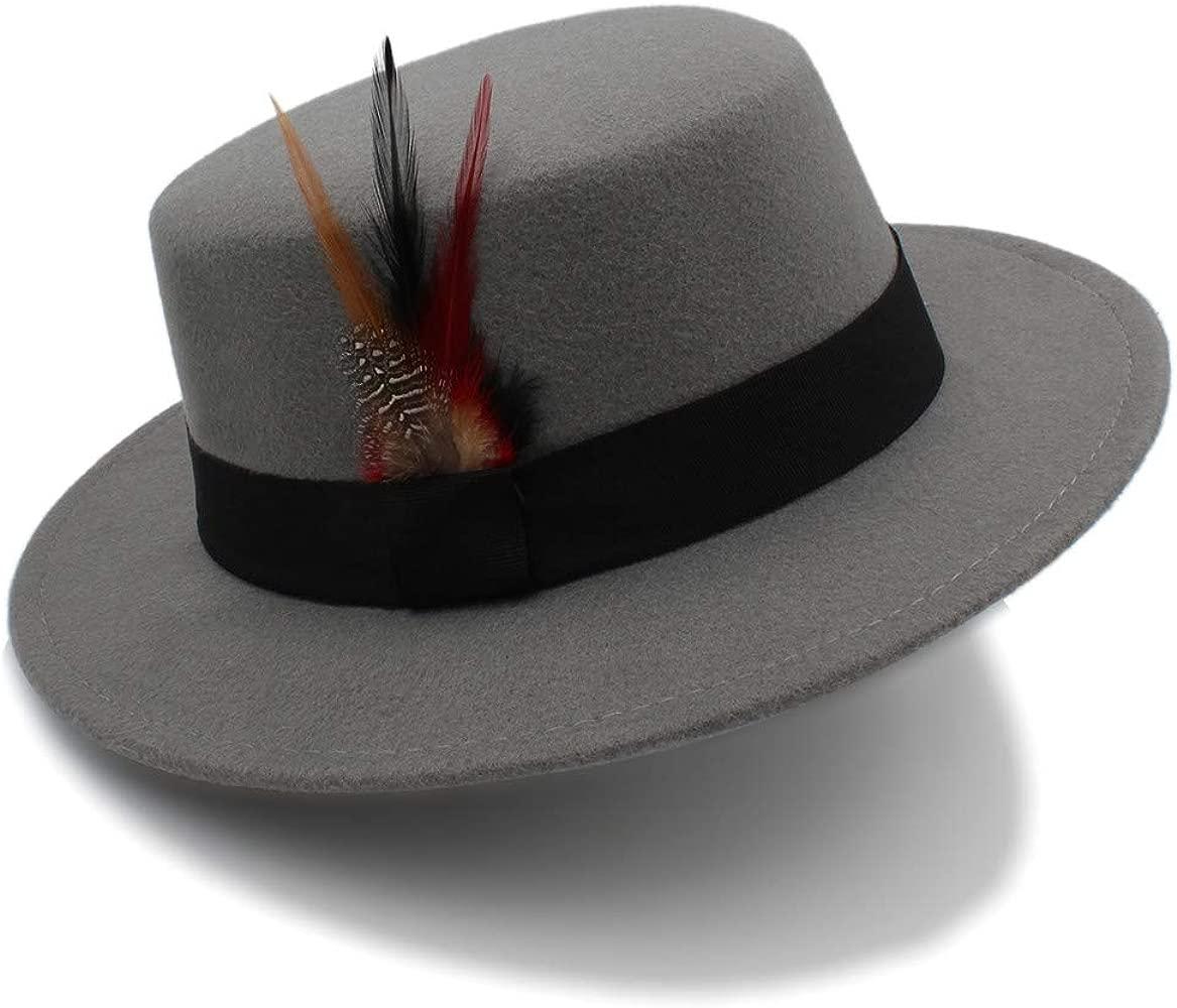 GHC gorras y sombreros Sombrero de Fedora Player, 2018 Nueva Moda ...