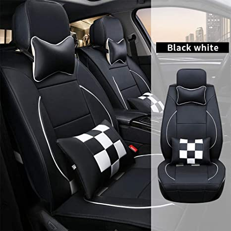 Groovy Amazon Com All Weather Custom Car Seat Covers For Kia Most Theyellowbook Wood Chair Design Ideas Theyellowbookinfo