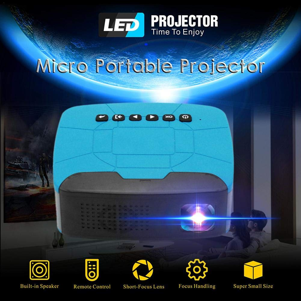 Boomboo Mini proyector LED Home Theater Cinema, Protable Home HD ...