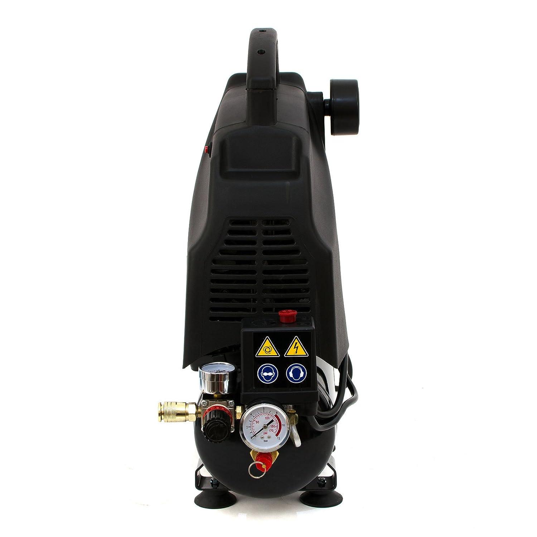 6L Compresor de aire 5.7 CFM, 1.5 HP, 1.1 KW, 230V, 115 PSI, 6 LITROS: Amazon.es: Bricolaje y herramientas