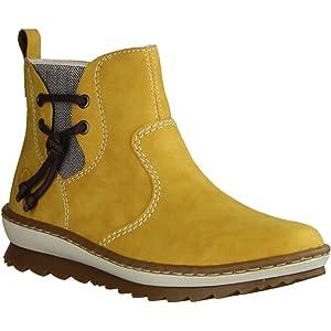 Rieker Damen Stiefeletten Y6461, Frauen Chelsea Boots