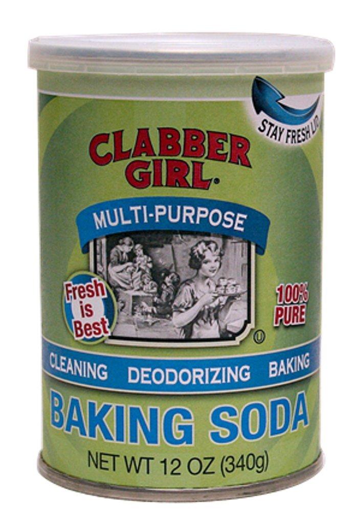 Clabber Girl Baking Soda 12 oz (Pack of 3)