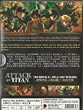 ATTACK ON TITAN : THE MOVIE 2 : JIYUU NO TSUBASA - COMPLETE MOVIE SERIES DVD BOX SET