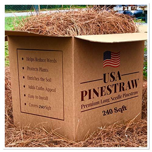 Pine Straw Mulch - 14