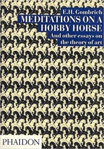 meditations on a hobby horse and other essays on the theory of art meditations on a hobby horse and other essays on the theory of art e h gombrich 0884253714903 com books