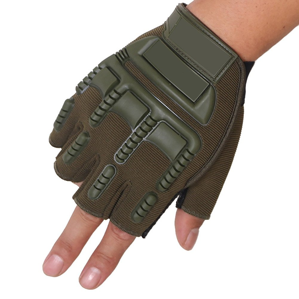 Fenta Half Fingers Airsoft Gloves Motorcycle Bicycling Gloves