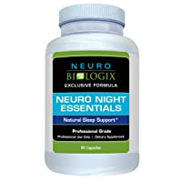 Neurobiologix Neuro Night Essentials Natural Sleep Supplement - GABA and Melatonin...