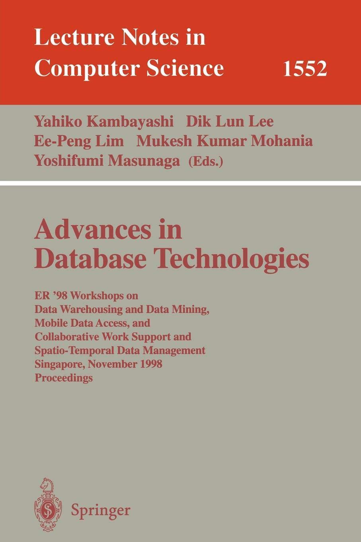 Advances in Database Technologies: ER '98 Workshops on Data