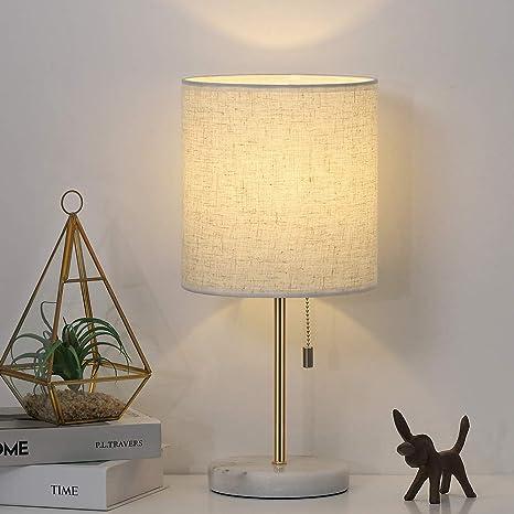 Amazon.com: Lámpara de mesita de noche contemporánea ...