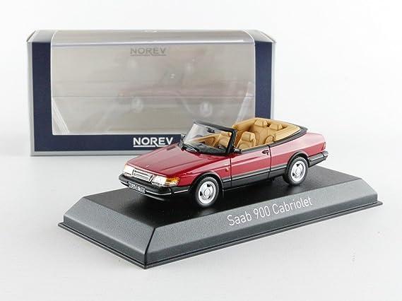 Norev 810042 - Saab 900 Turbo 16 Cabriolet - 1992 - Escala 1/43 - rojo: Norev: Amazon.es: Juguetes y juegos