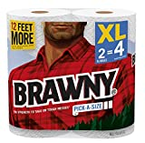 Health & Personal Care : Brawny® Paper Towels, Pick-A-Size, 2 XL Rolls