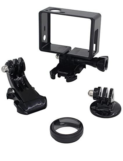 Amazon.com : Aiposen Frame Mount for GoPro Hero 4, 3+, and 3 All ...