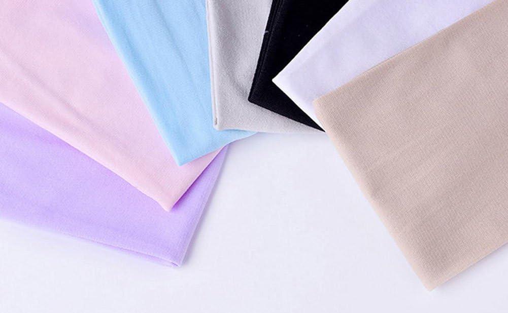 Hosaire 2pcs Manchette Couvre-Bras Mode Solid Couleur Manchon de Compression Coudi/ère Protection UV Respirant S/échage Polyester pour Basket-Ball//Football//Volley-Ball//Cyclisme Noir