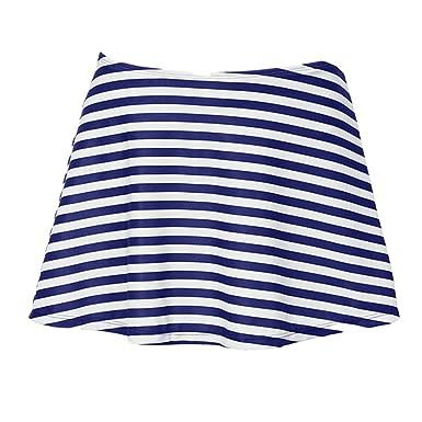 Yying Mujer Falda de baño Deporte acuático Pantalones Cortos ...