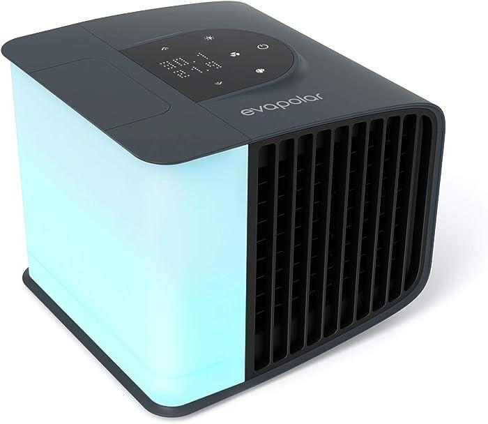 Evapolar EvaSmart Personal Evaporative Air Cooler and Humidifier and Portable Air Conditioner EV-3000 - Stormy Grey