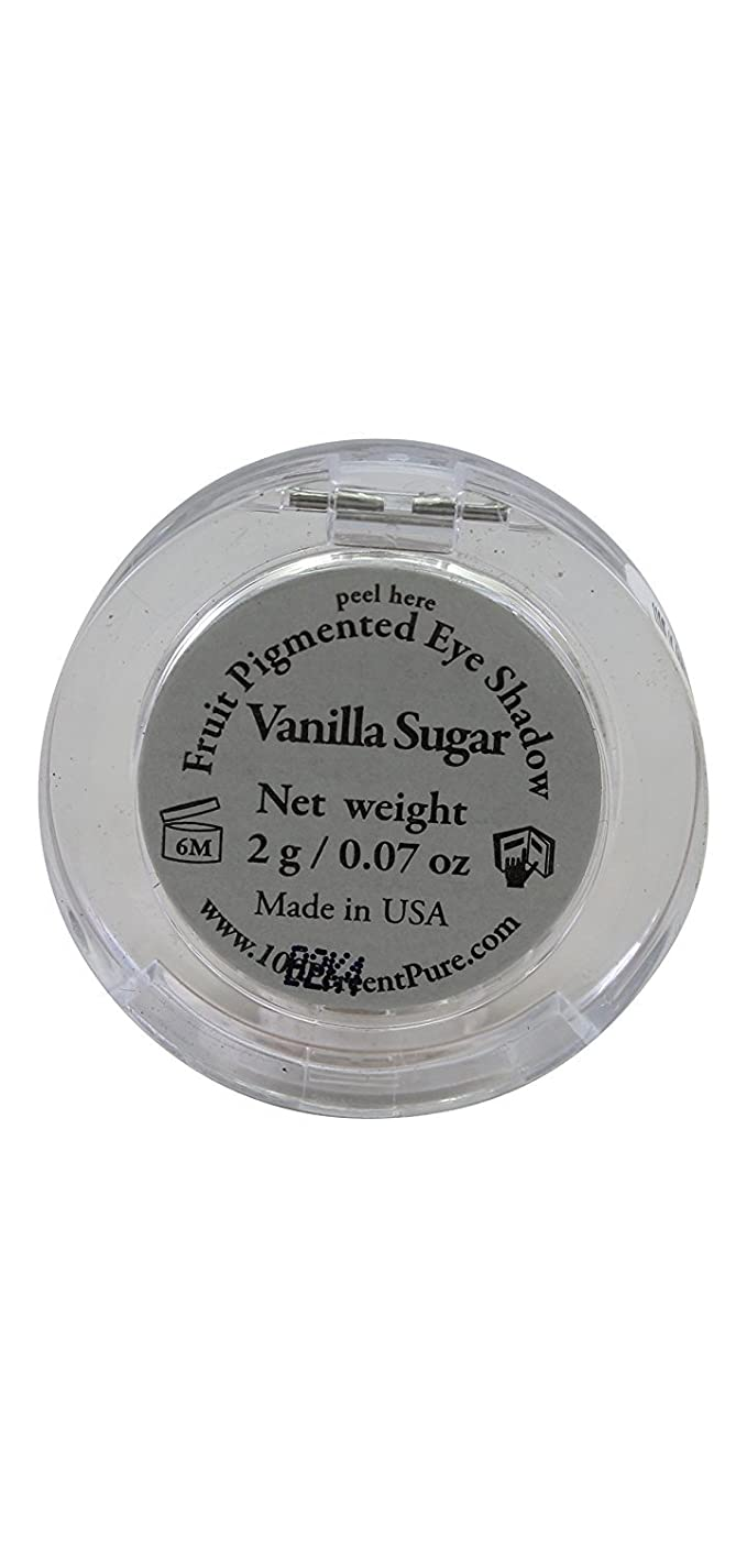 100% Pure Pressed Powder Eye Shadows, Vanilla Sugar, 0.3 Ounce