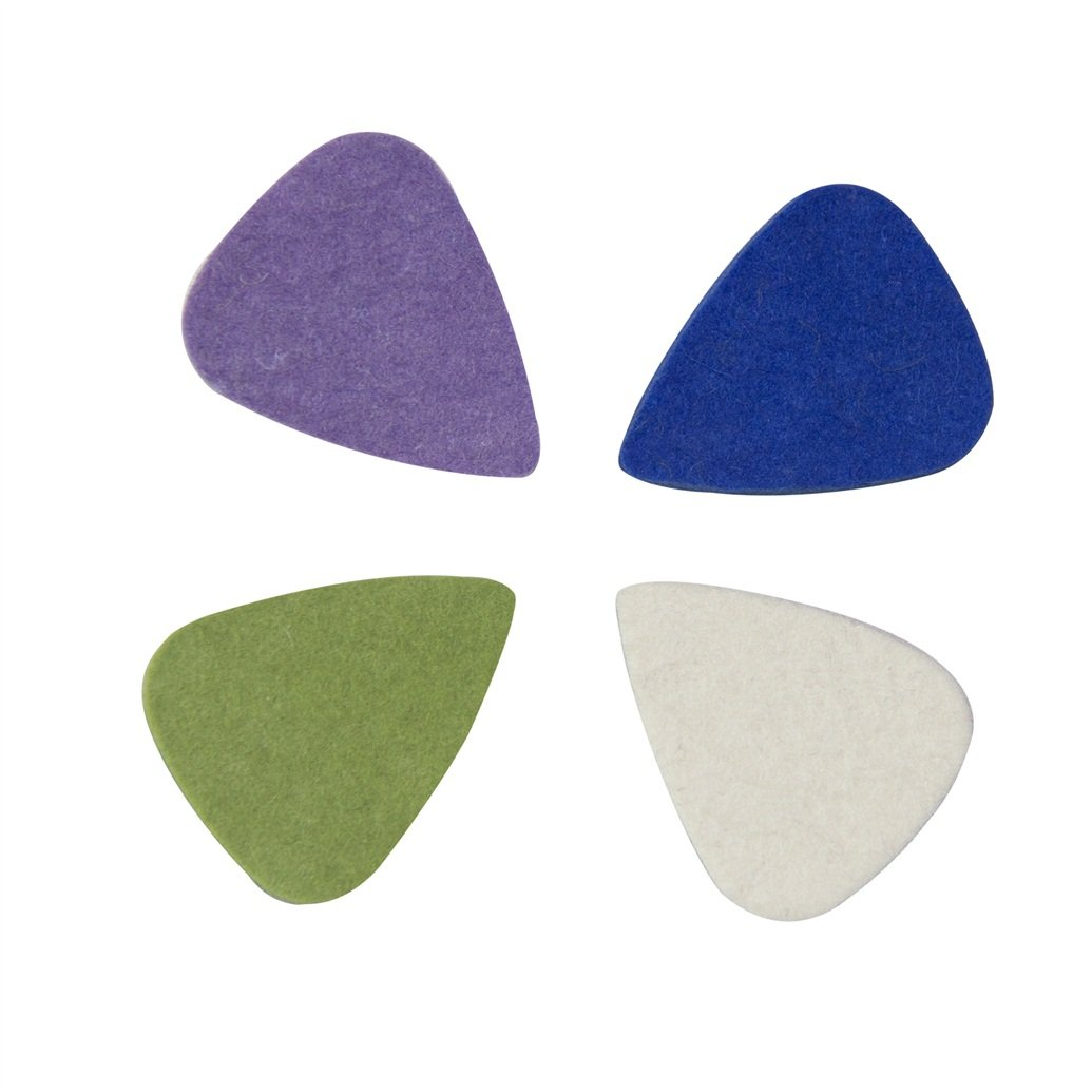 CYC Music Felt Picks Ukulele plectrum - 4 color in 1 UP-01