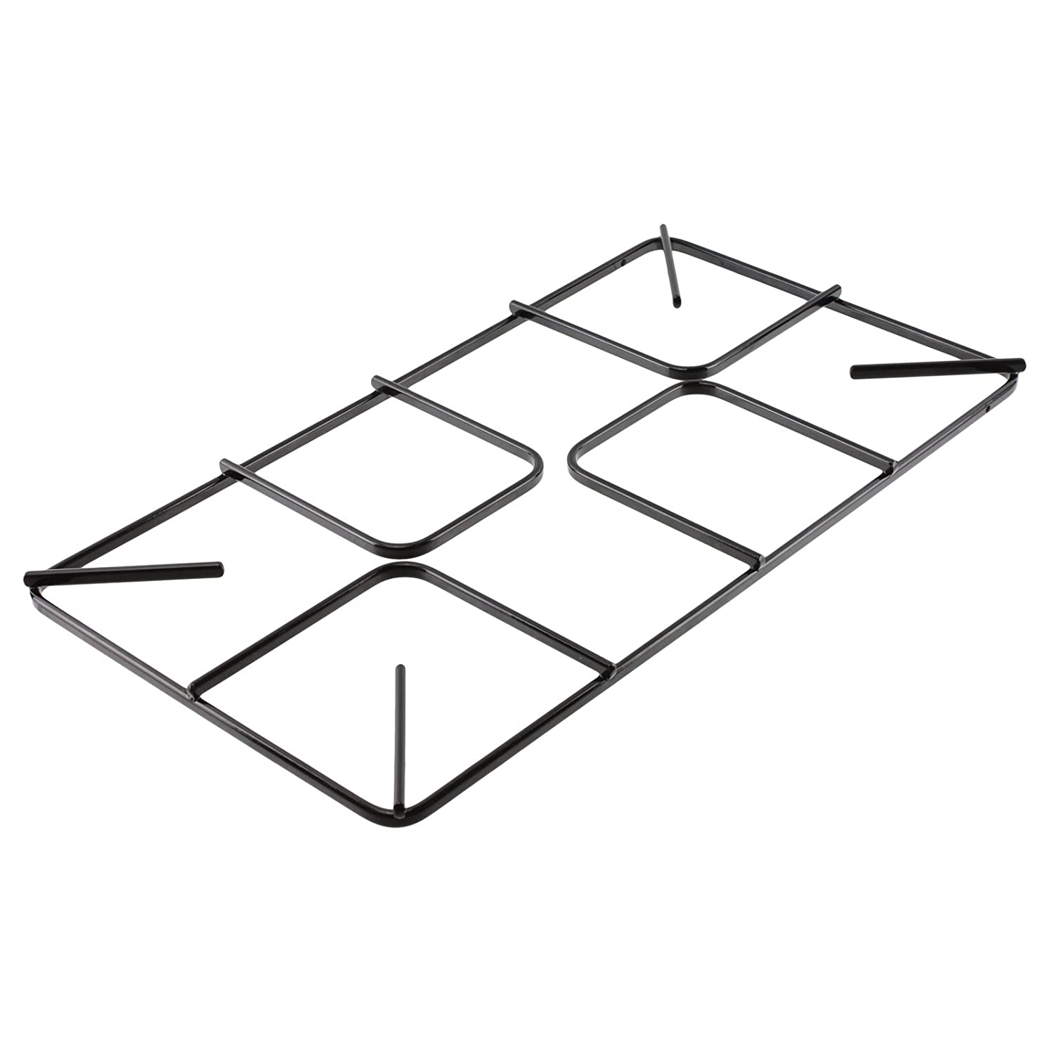 SPARES2GO Flat Gas Hob Pan Support Grid for Hotpoint Oven Cookers (455mm x 250mm, Large)