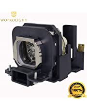 Woprolight for Panasonic ET-LAX100 Replacement Lamp Bulb for Panasonic PT-AX100 PT-AX100E PT-AX200 PT-AX200E