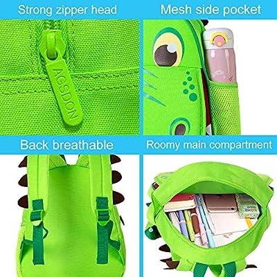 """14.5/"""" little kid Dinosaur bag for Boys Preschool Backpack"""