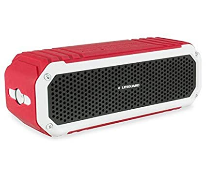 The 8 best lifeguard red waterproof portable bluetooth wireless speaker review