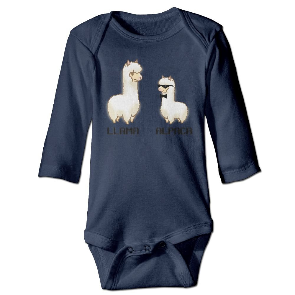 Midbeauty Llama Alpaca Bro Newborn Cotton Jumpsuit Romper Bodysuit Onesies Infant Boy Girl Clothes