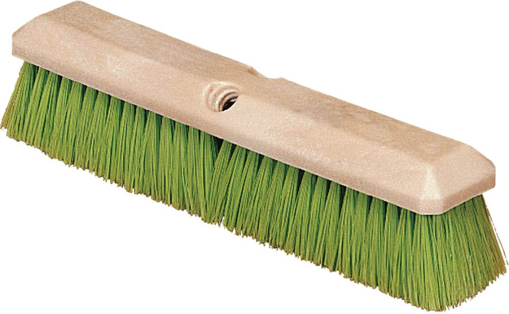 Carlisle 36121475 Commercial Vehicle Wash Brush, 14'', Green (Pack of 12) by Carlisle