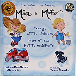 Bilingual Book The Twins Mia Mateo Daddy S Little