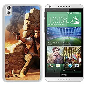 New Custom Designed Cover Case For HTC Desire 816 With Ah Drake Under Fire Uncharted Game (2) Phone Case