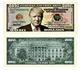 Set of 5 - Donald Trump 2016 Federal Victory Limited Edition Presidential Dollar Bill