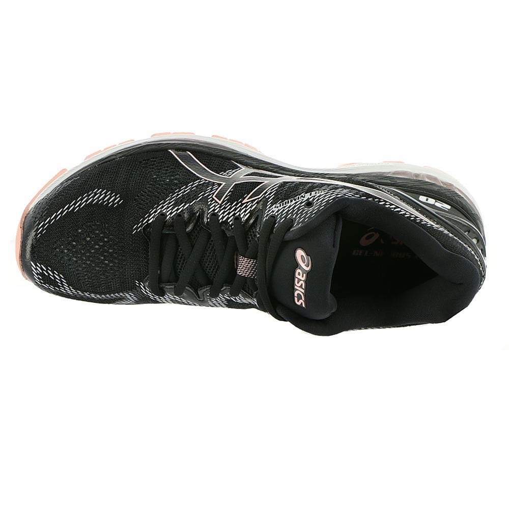 a2eb59e744dfe ASICS Women's Performance GEL-Nimbus 20 Running Shoe - T850N.001 (Black/Frosted  Rose - 9) - T850N.001 < Road Running < Clothing, Shoes & Jewelry - tibs
