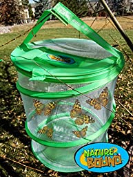Nature Bound Bug Net with Live Bug and Butterfly Village Habitat Combo Set