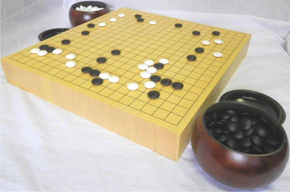注目 新かや ボードゲーム 2寸接合卓上囲碁盤セット/ いご 日本製 いご ボードゲーム 脚無し 日本製 B077FWRQFH, Candy:b0e115e9 --- arianechie.dominiotemporario.com