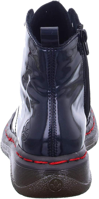 Rieker Y3219, Botas de Moda para Mujer Azul oCg7dWSh
